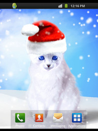 Screenshot von Xmas Cat