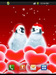 Screenshot von Xmas Penguins