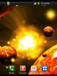 Screenshot von Red Planets