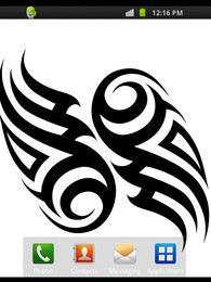 Screenshot von Tattoo Symbole