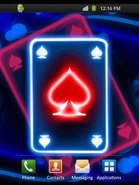Screenshot von Neon Card