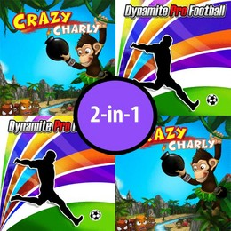 Screenshot von 2in1: Crazy Charly + Dynamite Pro Football