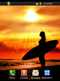 Screenshot von Surfer Sunset